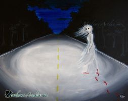 Lonely Road, Haunted by MadameAradia