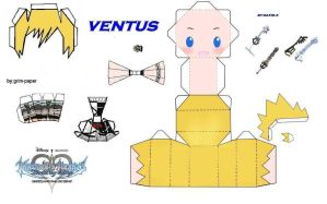 ventus papercraft by Grim-paper