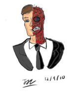Two-Face Corel Painter by Jedd-the-Jedi