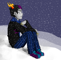 Eridan: Be Drawn With A Laptop Mouse by Eganov