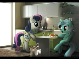 Waitin for Dinner by Mixermike622