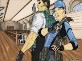 Jill And Chris Re5 Complete by PatrickOlsen