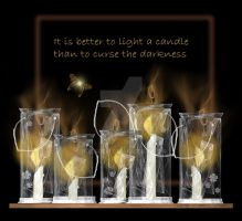 Light a candle... by rockgem