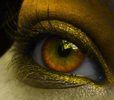 Golden Eye by EsmeraldEyes