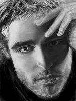 Rob Pattinson Peek by CezLeo