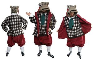 Toad of Toad Hall kigurumi by diemortalroom