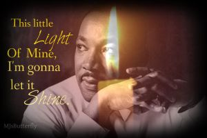 Dr. Martin Luther King, Jr. Day by MJsButterfly