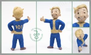 Vault Boy by ZimtBeadwork