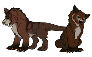 Commission: Puppies! by RedtheGamr