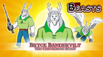Commission - Beasts Wallpaper 11 - Bryce by BennytheBeast