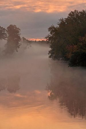 Fox River Sunrise by papatheo