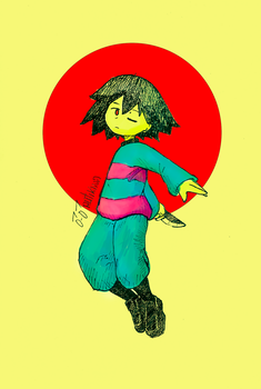 Re: Frisk color by rutikina
