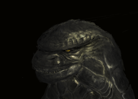 The Face of a Monster by Pulsarium