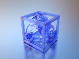 3D Printed Fractal Cube by nic022