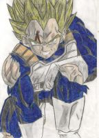 Vegeta by IDimopoulos