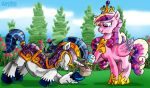 Shining Armor e Cadence by DAVIDE76