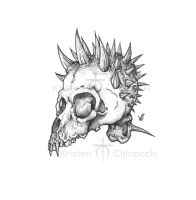 Random skull by InfectiousHumanWaste