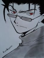 Kurogane The 2nd Drawing XD by KuroInsanity