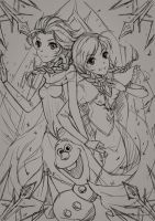 Frozen_sketch by subaru01rins