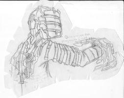 .:Issac - Dead space:. by NecrominionHTF