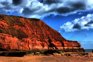 Epic Cliffs Of Exmouth HDR by drumcrazy779