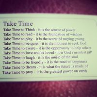 Take Time by yuffieHeart