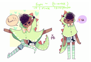 Franc / Francis  oc by PastelBeanies