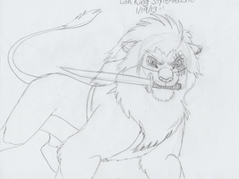 Lion King Style - Verzne (WIP) by AnimeFan4Eternity23