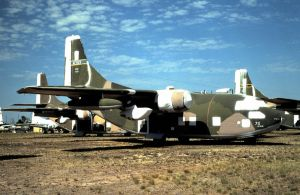 Spraylatted C-123 at MASDC by F16CrewChief