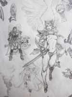 Valkyrie/Warrior Angel Ideas by theoggster