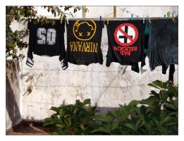 Laundry by punksafetypin