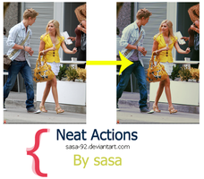 Neat Photoshop Actions by sasa-92