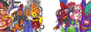 Good Left Side vs Evil Right Side by DBZ2010