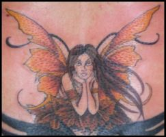 Fairy tattoo by hellcatmolly