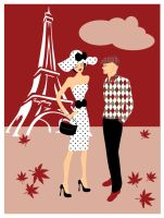 L'Automne A Paris by tusymusy