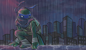 TMNT: Farewell by Mosrael-the-Waker