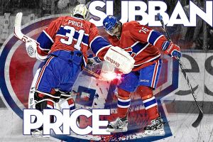 Carey Price and PK Subban by shizzle68