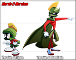 Marvin the martian redesign by Ninjaco