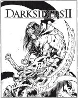 Darksiders II Promo Inked - MAD - Egli by SurfTiki