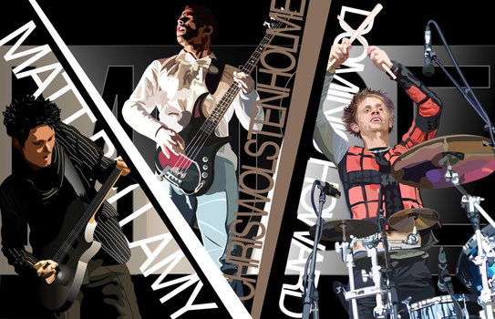 Muse group vector by MuseSyndrome