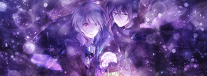 Nezumi y Shion | Portada by Butterth