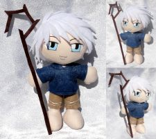 Commission, Mini Plushie Jack Frost by ThePlushieLady
