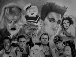 Ghostbusters by MoeManReese
