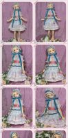 Baby Blue Dress by ball-jointed-Alice