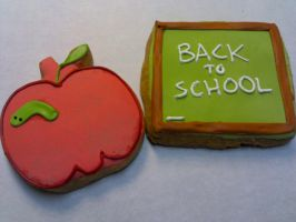 Back to School Cookies by eckabeck