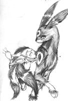 Pure Love, a Warring Pichu pic by FaisLittleWhiteRaven