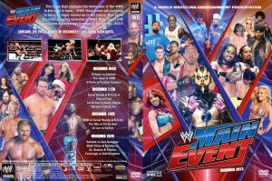 WWE Main Event 2013 DVD Cover by Chirantha