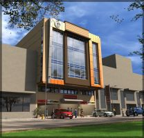 proposed commercial building by arimankodi