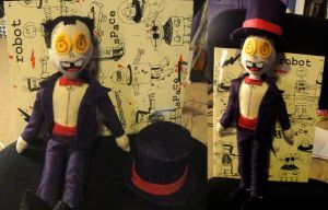 Superjail : Warden Doll by Psycho7772