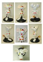 Danger Mouse Statue by FantasyCharacterz